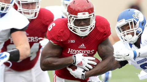 RB: Tevin Coleman, Indiana (2nd: Jay Ajayi, Boise State)