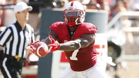 Round 3, Pick 94: Ty Montgomery, WR / KR, Stanford