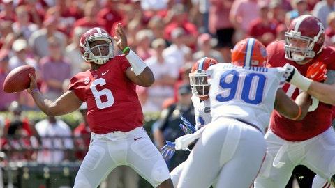 Winner: Blake Sims, QB, Alabama