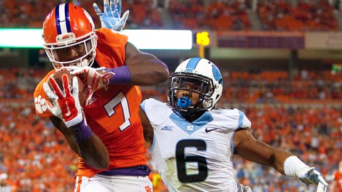 WR Mike Williams, Jr., Clemson | Third Team All-ACC