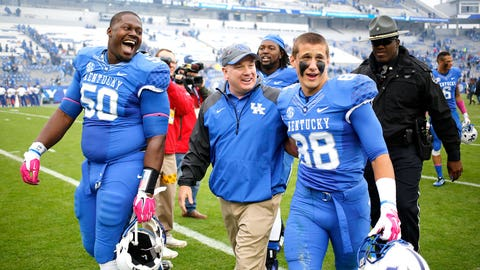 Kentucky Wildcats (TaxSlayer Bowl vs. Georgia Tech)