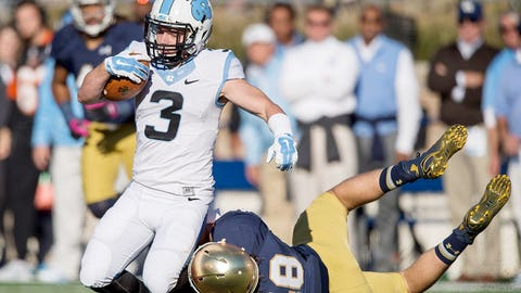 WR Ryan Switzer, Jr., North Carolina | Third Team All-ACC