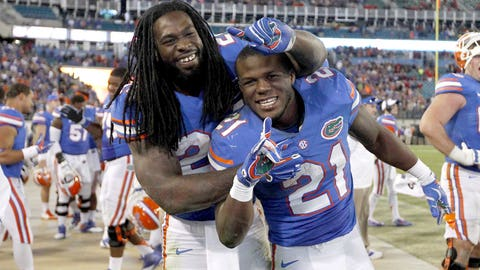 Winner: Florida running backs