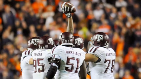 Texas A&M Aggies — 269 selections