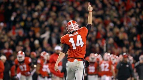 Quarterback: Hutson Mason, Georgia Bulldogs
