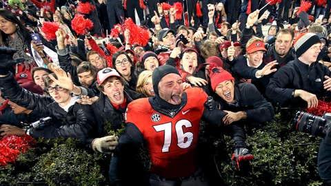 Georgia Bulldogs — 306 selections