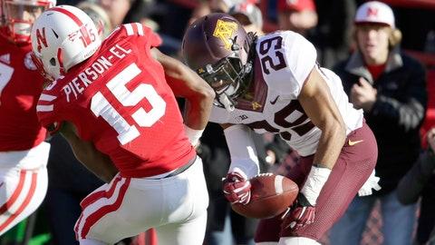 Briean Boddy-Calhoun's forced fumble preserves win against Nebraska