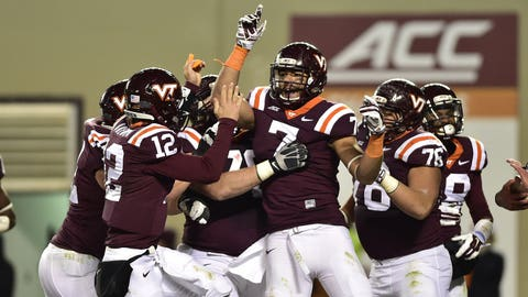Virginia Tech Hokies: 8.5 wins (2014 record: 7-6)