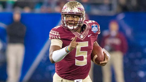 Florida State QB Jameis Winston, 2013 winner