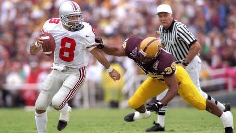 18. 1997 Rose Bowl: No. 4 Ohio State 20, No. 2 Arizona State 17