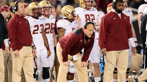Boston College Eagles: 5.5 wins (2014 record: 7-6)