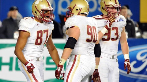 DT Connor Wujciak, Sr., Boston College | Third Team All-ACC