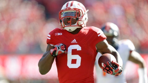 But Wisconsin does have its star RB back