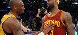 LeBron James surpasses Kobe Bryant on the NBA playoff scoring list