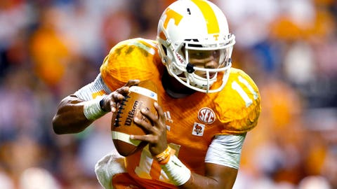 3. Joshua Dobbs, Jr., Tennessee