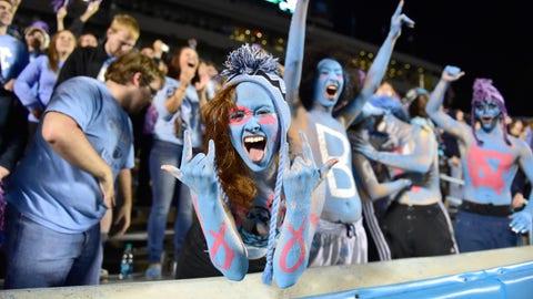 3: North Carolina: No. 33 247Sports/No. 16 Rivals