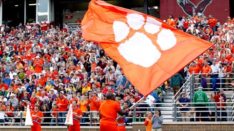 Bear comes to Clemson
