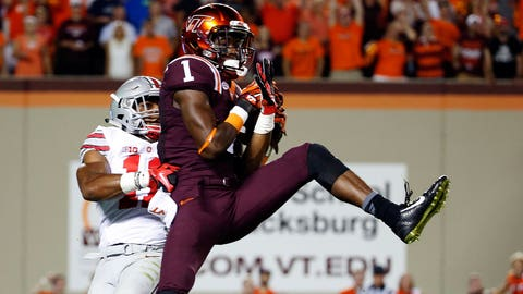 6. Isaiah Ford, Jr., Virginia Tech