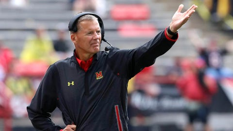 Randy Edsall - Maryland Terrapins