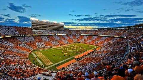 Tennessee (624 points)