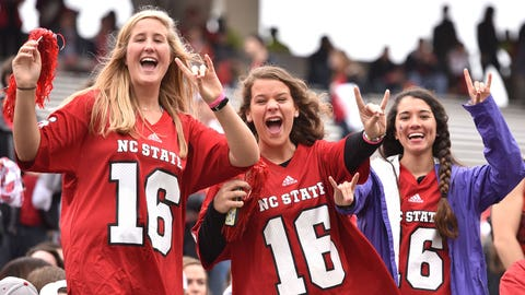 9: N.C. State: No. 50 247Sports/No. 45 Rivals