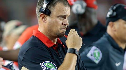 Houston coach Tom Herman