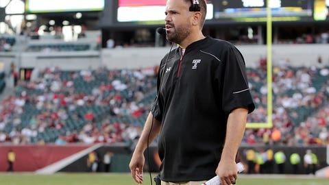 Temple coach Matt Rhule