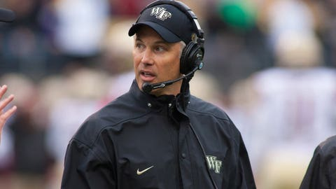 ACC Atlantic T-No. 4: Wake Forest (5-7, 2-6 ACC)