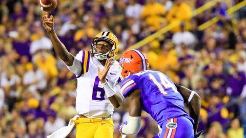 Winner: LSU quarterback Brandon Harris