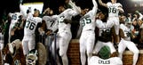 Michigan State's startling victory over Michigan in pictures