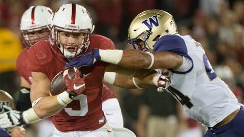 Winner: Stanford RB Christian McCaffrey