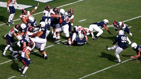 Loser: Penn State kicker Joey 'Big Toe' Julius