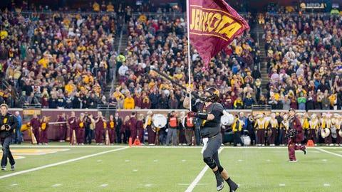 Winner: Minnesota football