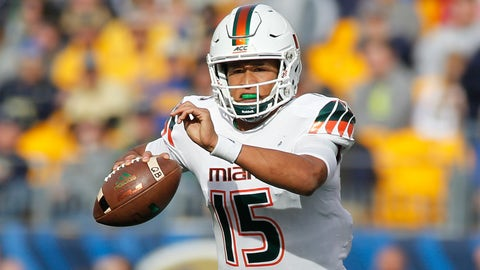 ACC Coastal No. 3: Miami (7-5, 5-3 ACC)