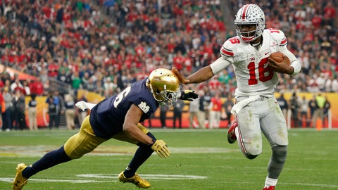 Ohio State has J.T. Barrett and you don't