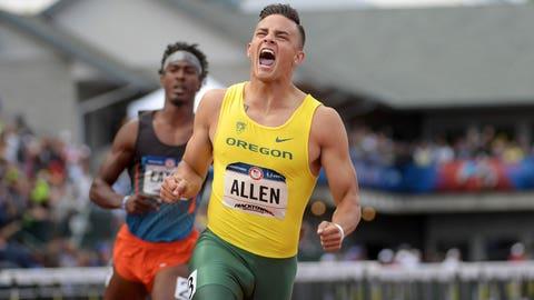 Devon Allen, Oregon, WR