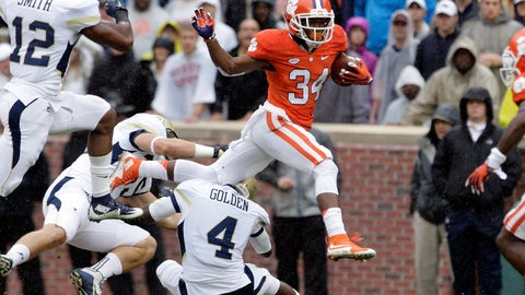7. Ray-Ray McCloud (WR, Clemson)
