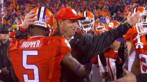 Week 5: Clemson needs a fourth down stop to survive a monsoon, and Notre Dame