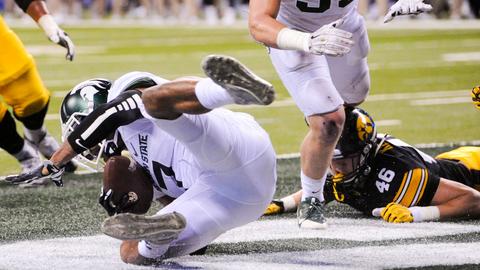 Big Ten Championship: A key interception fuels a Michigan State title