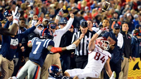 Week 10: Arkansas pulls off a miracle at Ole Miss
