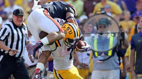 Week 3: Leonard Fournette brushes another Auburn defender off his back