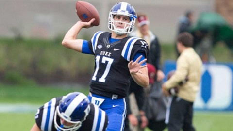 Duke QB Daniel Jones will flourish under David Cutliffe
