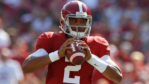 Barring injury, Jalen Hurts will take every meaningful snap for Alabama the rest of the season