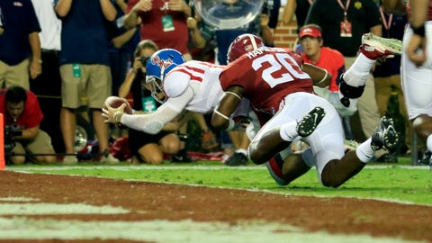 Chad Kelly scores just four plays later