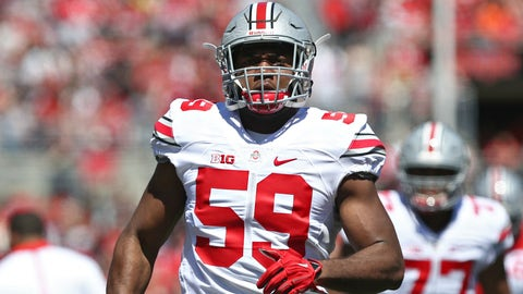 How will the Buckeyes get all their defensive ends snaps?