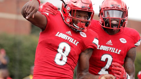 Louisville (3-0), re-rank: 2