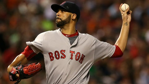 David Price is streaking