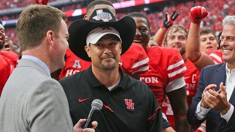 Tom Herman - Houston head coach