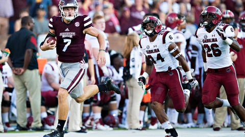 Mississippi State (+14) at LSU
