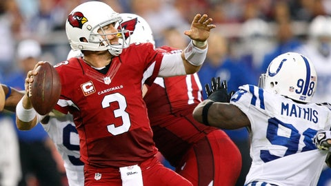 September 17: Arizona Cardinals at Indianapolis Colts, 1 p.m. ET